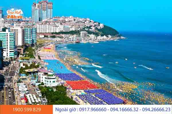 Bãi biển Haeundae Hàn Quốc