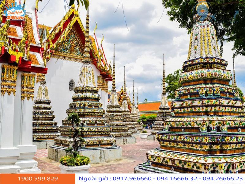 chùa thuyền ở Bangkok