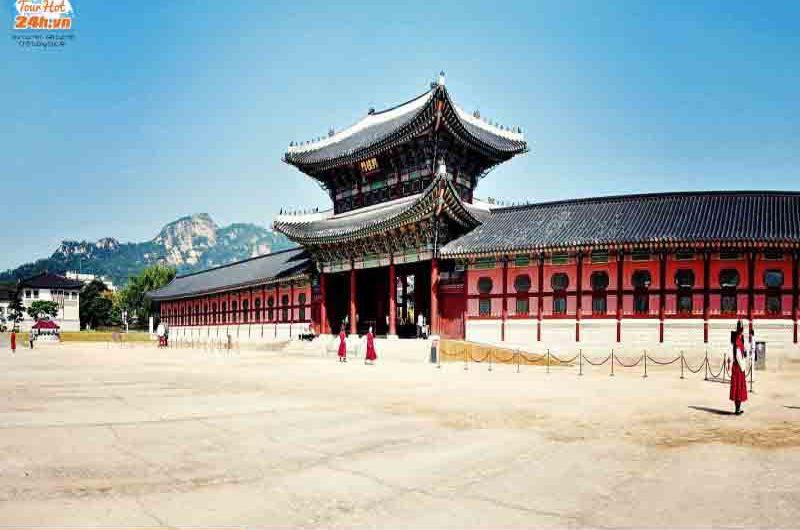 cách đi đến cung điện Gyeongbokgung
