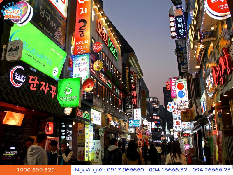 tour du lịch Hàn Quốc tháng 10