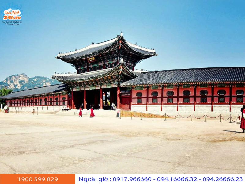 du lịch Hàn Quốc tháng 11 mặc gì