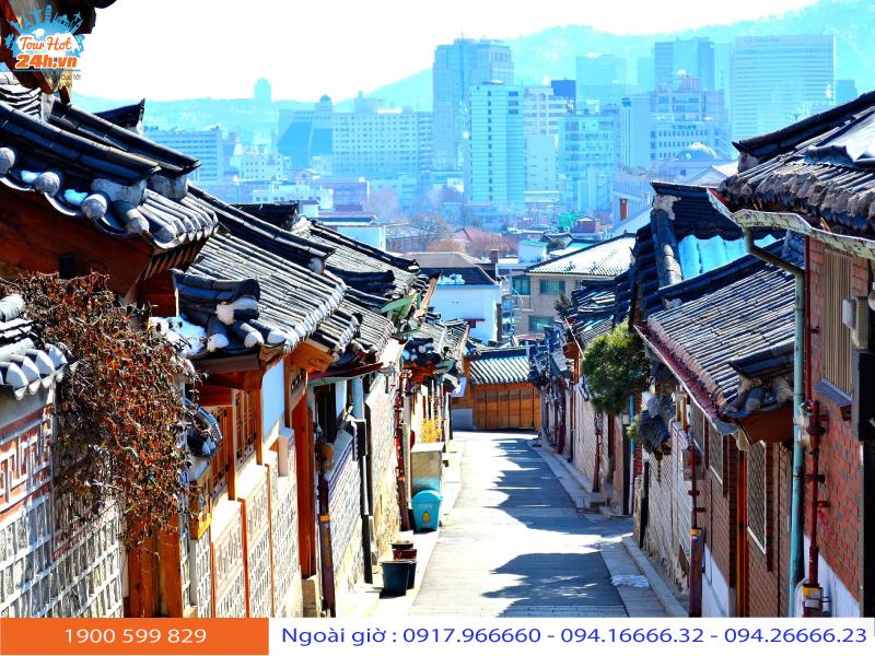 du lịch Hàn Quốc tháng 11