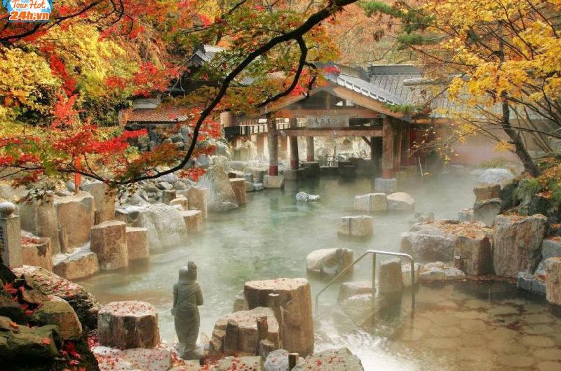 tắm onsen ở nhật bản