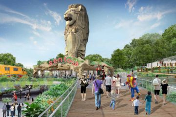 Merlion-Gateway-Precinct-Sentosa