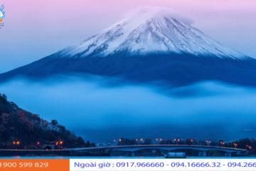 Núi Phú Sĩ biểu tượng của Nhật Bản