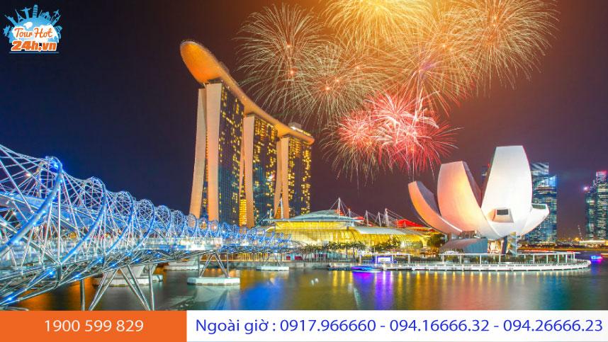 Năm mới sắc màu ở Singapore